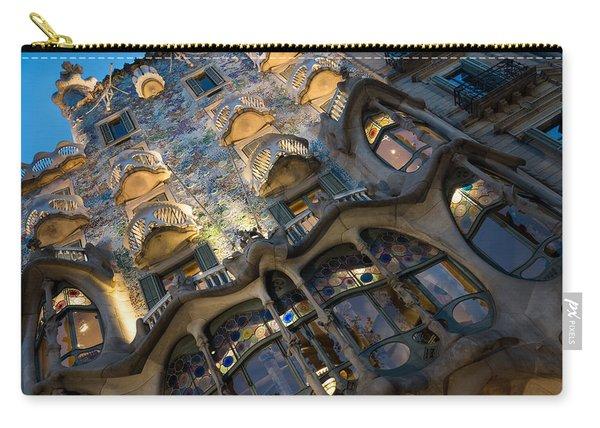 Fantastical Casa Batllo - Antoni Gaudi Barcelona Carry-all Pouch