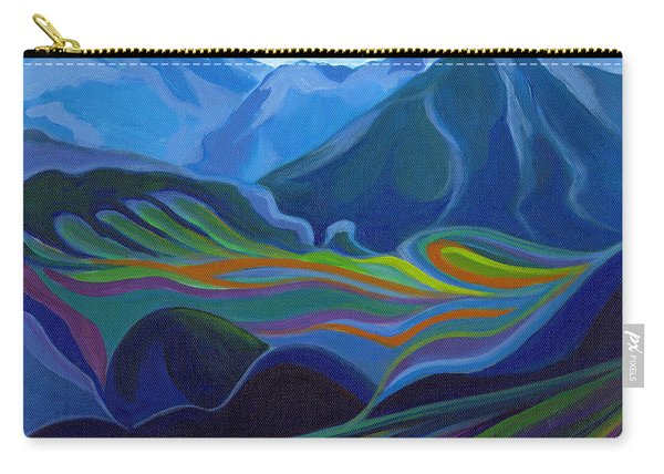 Faraway Mountains Carry-all Pouch