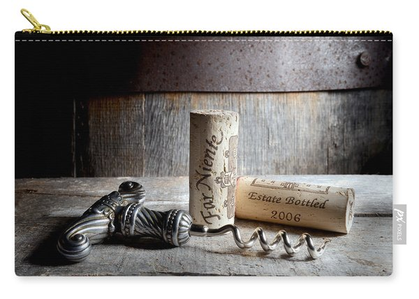 Far Niente On Silver Carry-all Pouch