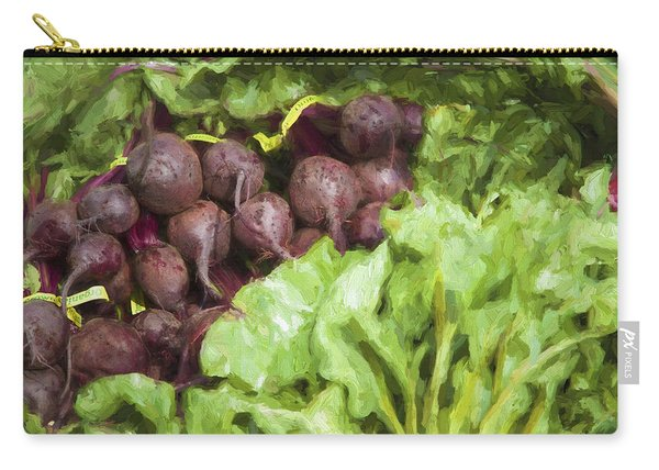 Farmers Market Beets And Greens Carry-all Pouch