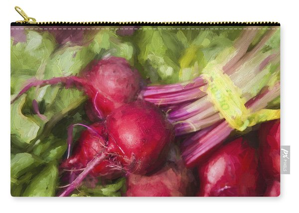 Farmers Market Beets Square Format Carry-all Pouch