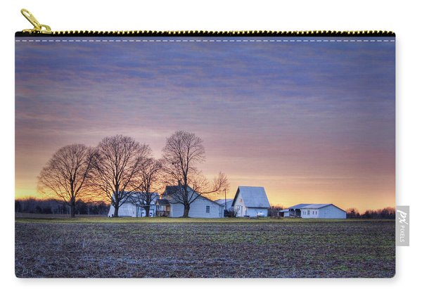 Farmstead At Sunset Carry-all Pouch