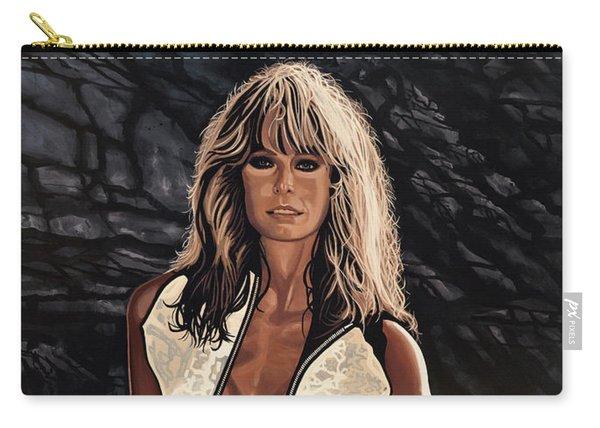 Farrah Fawcett Painting Carry-all Pouch