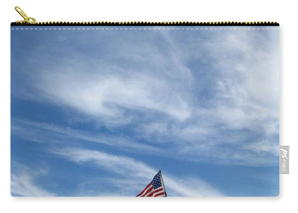 Fat Albert And Flag Carry-all Pouch