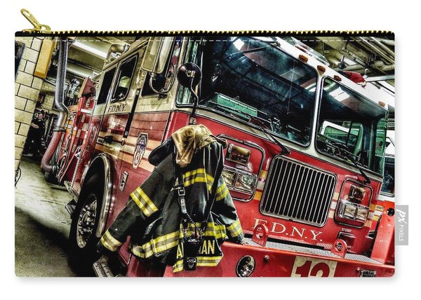 Fdny Wheels Carry-all Pouch