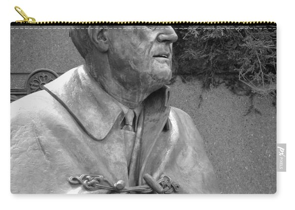 Fdr Statue At Fdr Memorial Carry-all Pouch