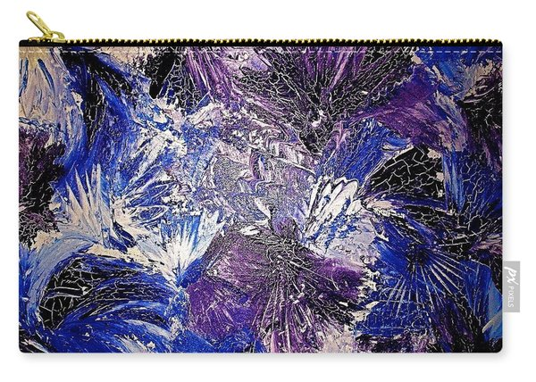 Feathers In The Wind Carry-all Pouch