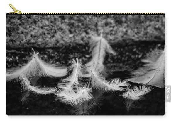 Angels Pass By - Monochrome Carry-all Pouch