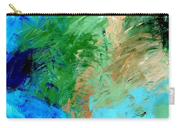Feel The Tropical Breeze Carry-all Pouch