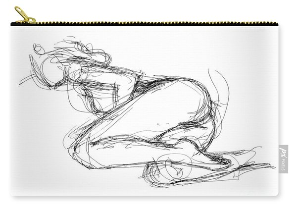 Female-erotic-sketches-8 Carry-all Pouch