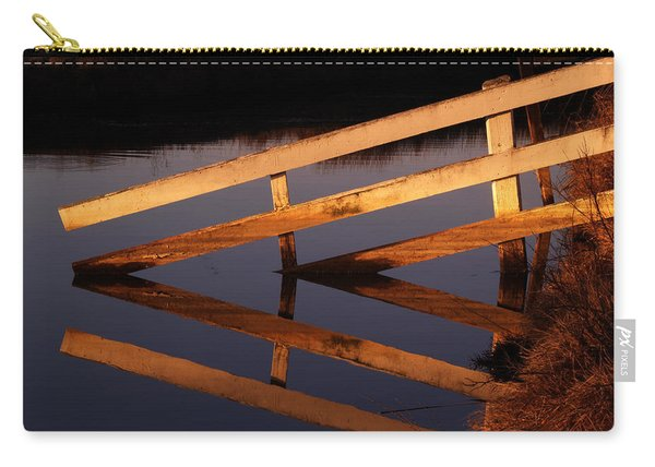 Fenced Reflection Carry-all Pouch