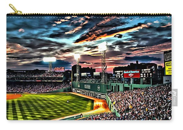 Fenway Park At Sunset Carry-all Pouch