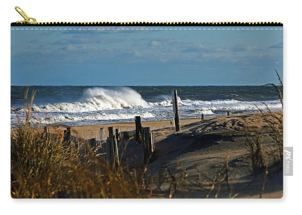 Fenwick Dunes And Waves Carry-all Pouch