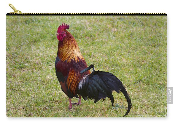 Feral Rooster Carry-all Pouch