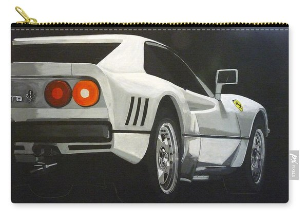 Carry-all Pouch featuring the painting Ferrari 288 Gto by Richard Le Page