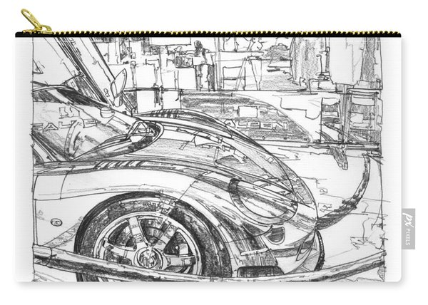 Ferrari-saleen Study Carry-all Pouch