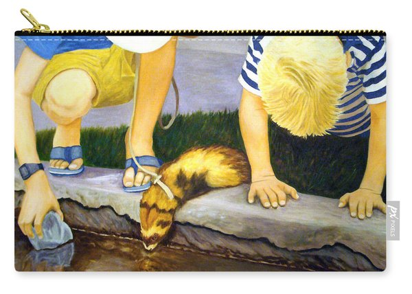 Ferret And Friends Carry-all Pouch