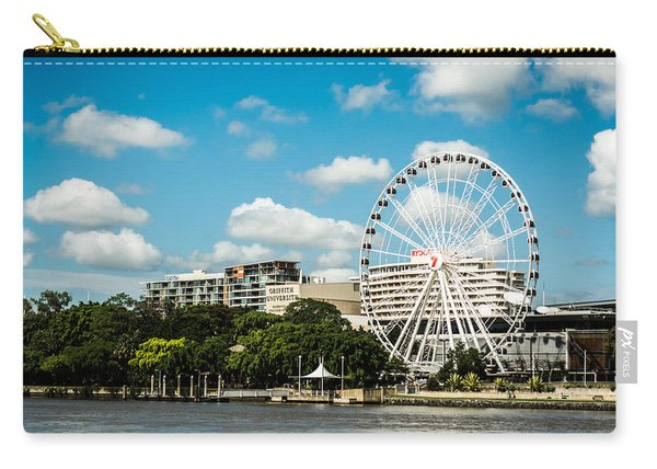 Ferris Wheel On The Brisbane River Carry-all Pouch