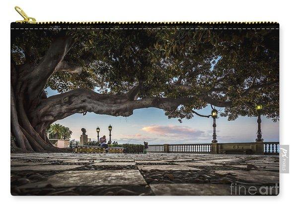 Ficus Magnonioide In The Alameda De Apodaca Cadiz Spain Carry-all Pouch
