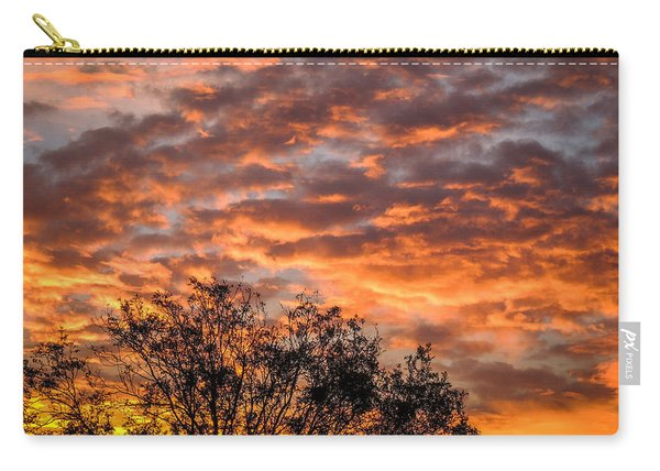Fiery Sunrise Over County Clare Carry-all Pouch