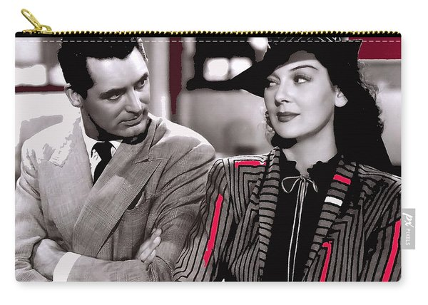 Film Homage Cary Grant Rosalind Russell Howard Hawks His Girl Friday 1940-2008 Carry-all Pouch