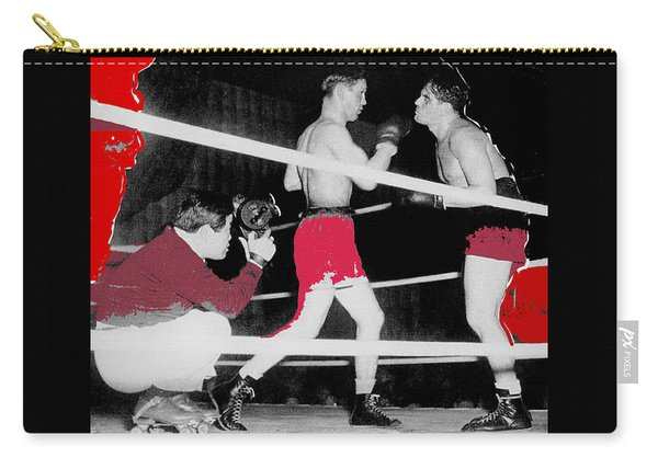 Film Noir Cinematographer James Wong Howe John Garfield Body And Soul 1947 Color Added 2013 Carry-all Pouch
