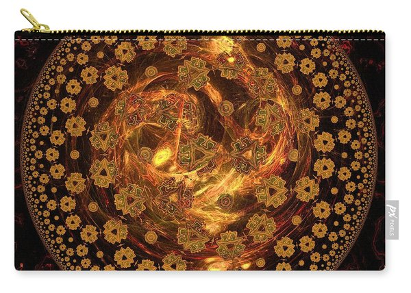 Fire Ball Filigree  Carry-all Pouch