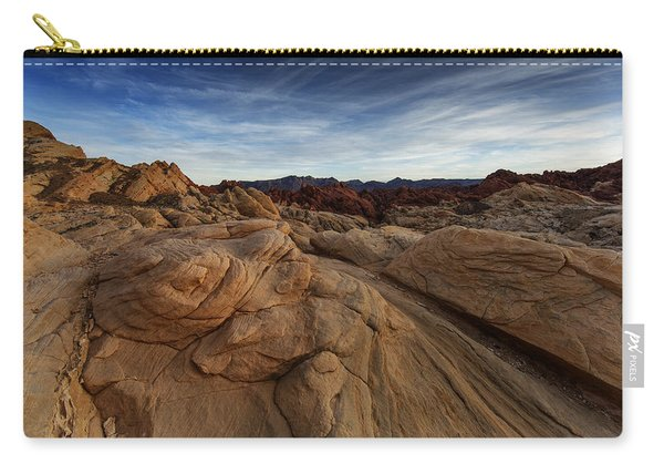 Fire Canyon, Valley Of Fire Carry-all Pouch