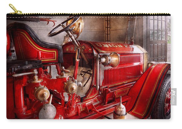 Fireman - Truck - Waiting For A Call Carry-all Pouch