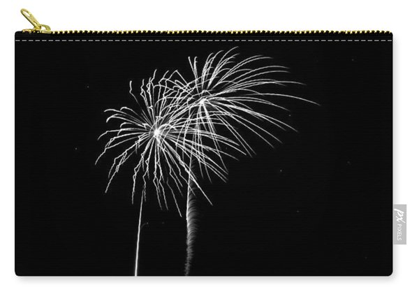 Firework Palm Trees Carry-all Pouch