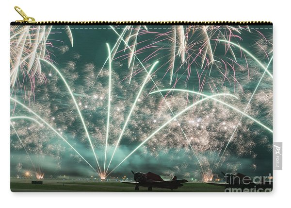 Fireworks And Aircraft Carry-all Pouch