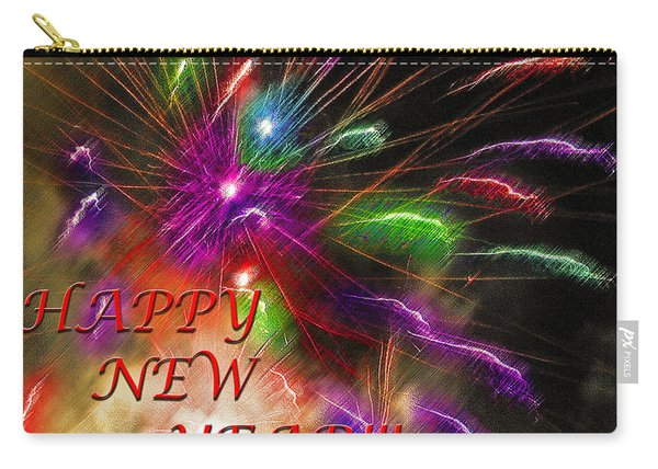 Fireworks - Happy New Year Carry-all Pouch