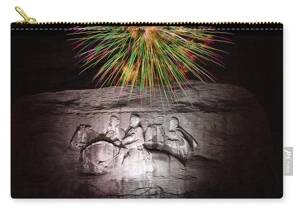 Fireworks Over Stone Mountain Carry-all Pouch