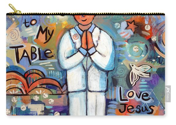 First Communion Boy Carry-all Pouch