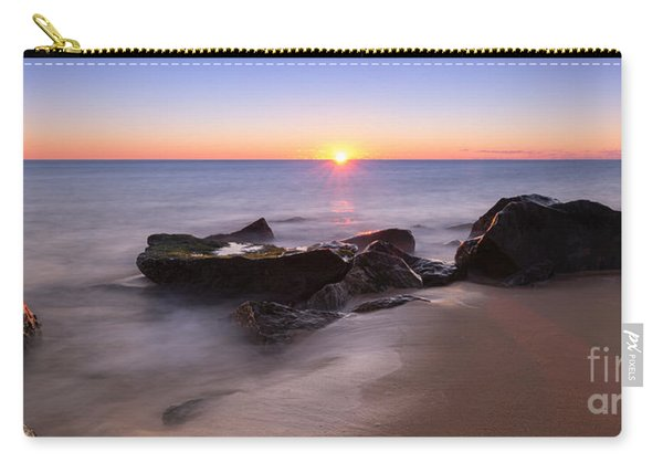 First Light At Sandy Hook Nj Pano Carry-all Pouch