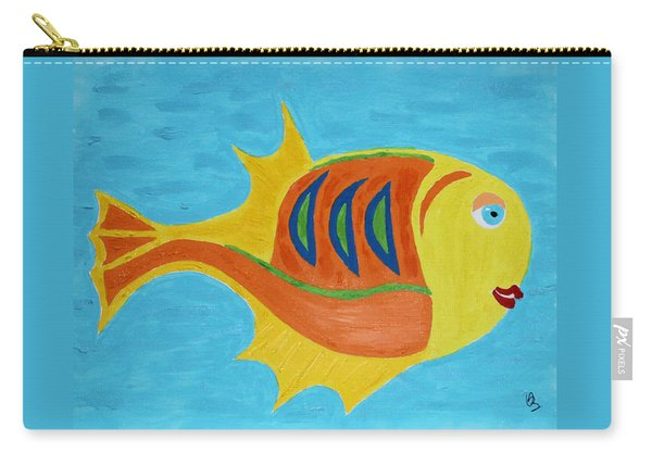 Fishie Carry-all Pouch