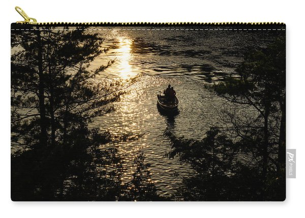 Fishing At Sunset - Thousand Islands Saint Lawrence River Carry-all Pouch
