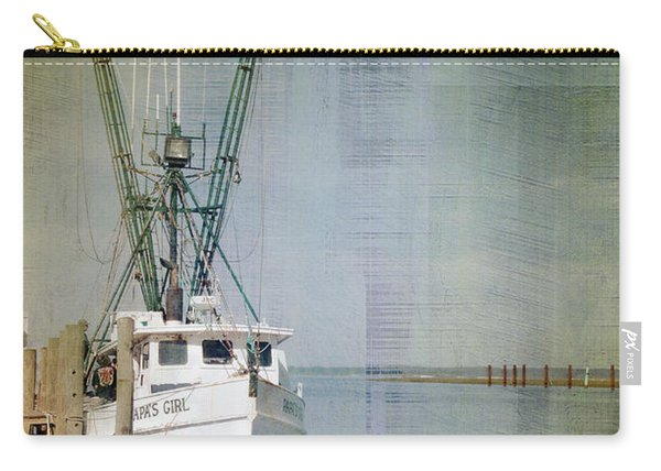 Fishing Boat In Chincoteague Carry-all Pouch