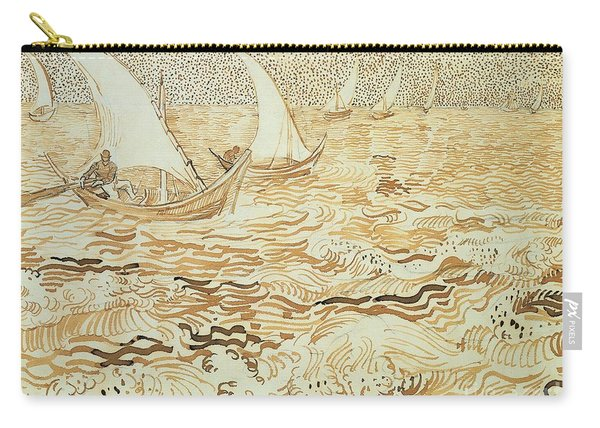 Fishing Boats At Saintes Maries De La Mer Carry-all Pouch