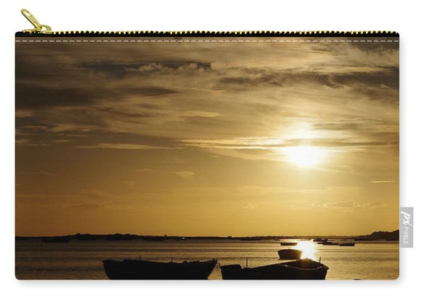 Fishing Boats In Cacela Velha Carry-all Pouch