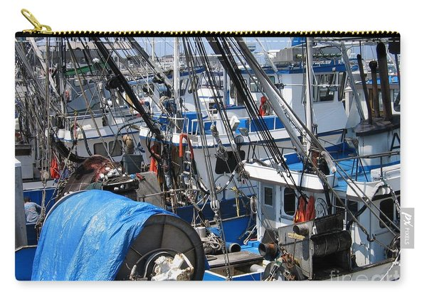 Fishing Boats In Monterey Harbor Carry-all Pouch