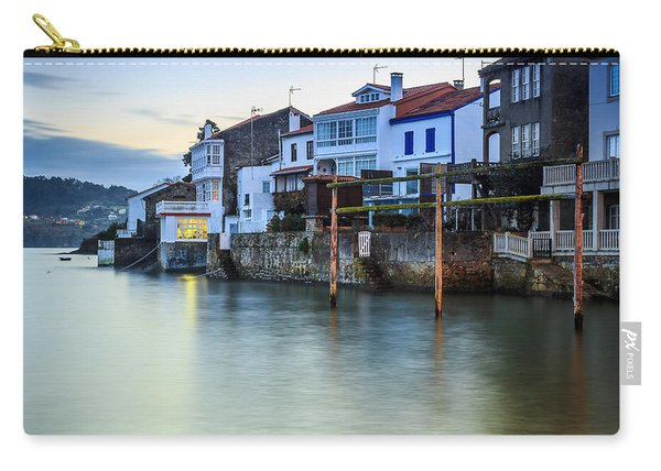 Fishing Town Of Redes Galicia Spain Carry-all Pouch