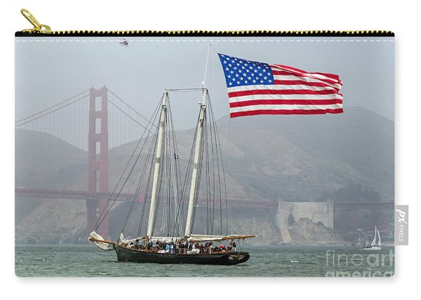 Flag Ship Carry-all Pouch