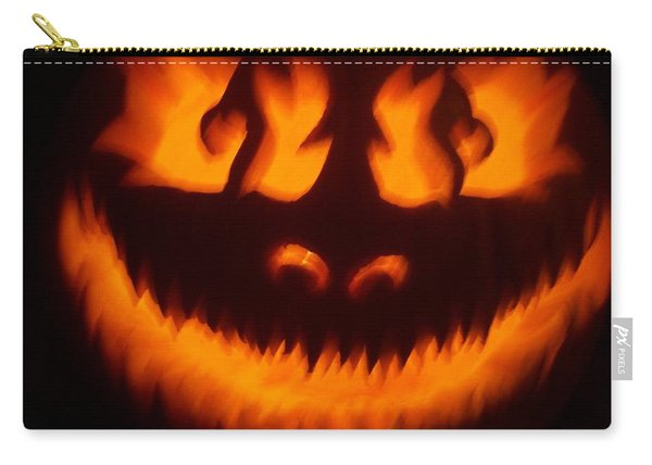 Flame Pumpkin Carry-all Pouch