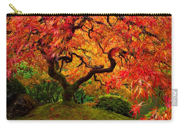 Flaming Maple Carry-all Pouch