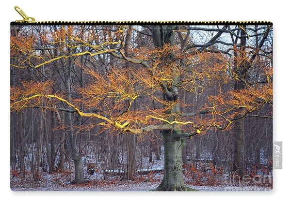 Flaming Tree Carry-all Pouch