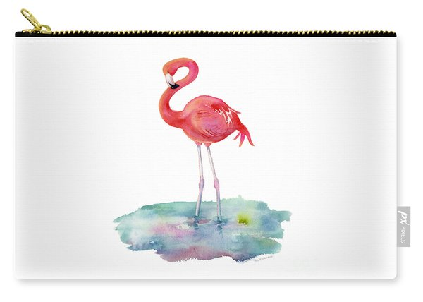 Flamingo Pose Carry-all Pouch