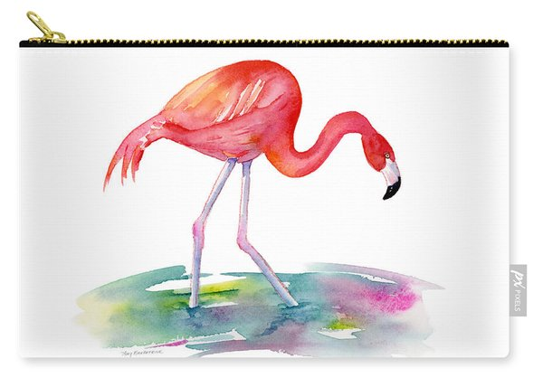 Flamingo Step Carry-all Pouch