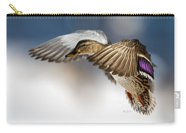 Flight Of The Mallard Carry-all Pouch