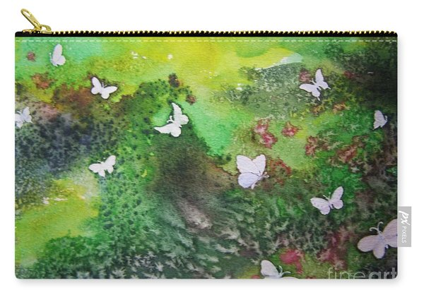 Flight Of White Carry-all Pouch